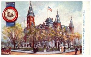 20821 Tuck 2454  W.VA Charleston  The  West Virginia State Capitol