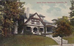 Jacob Ulmer Residence Pottsville Pennsylvania 1913