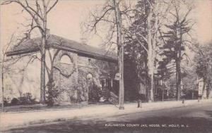 New Jersey Mount Mholly Burlington County Jail House