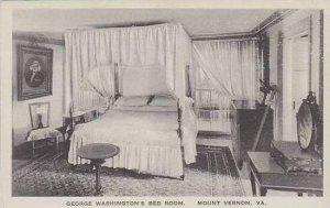 Virginia Mount Vernon George Washingtons Bed Room Albertype