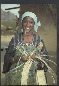 Niger Postcard - El Mecki - La Sparterie Est Le Travail Des Femmes Kel...  T1153