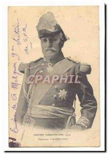 European War 1914 Old Postcard General Castelnau