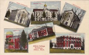 Michigan Albion Multi View Albion College Buildings
