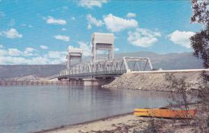 KELOWNA, British Columbia, Canada, 1940-1960's; Okanagan Lake Bridge