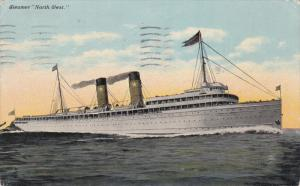 Oceanliner/Ship/Steamer North West, PU-1911