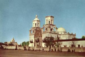 CA - Mission San Xavier del BAC, Union Oil Co Series