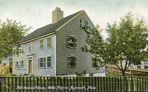 MA - Plymouth. The Howland House (Sent from Nettie Howland to Alace Howland) ...