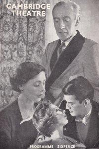 David Nixon Magician Cambridge Theatre Advert Drama Programme