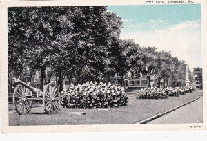 BROOKFIELD , Missouri,1910s-30s; Park Oval