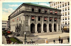 West Virginia Charleston Post Office and Federal Building 1917 Curteich