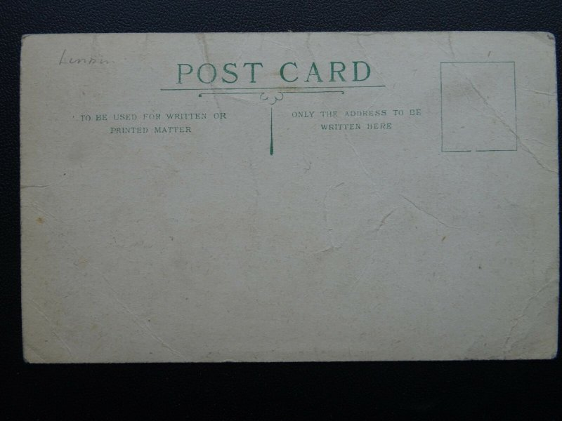 London MERCHANT TAYLOR'S SCHOOL (Charterhouse) Old Postcard