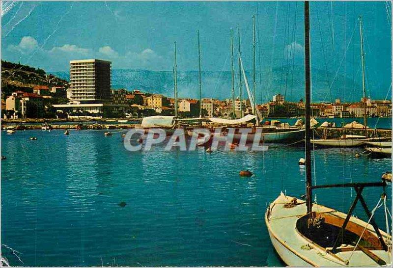 Postcard Modern Split Boat