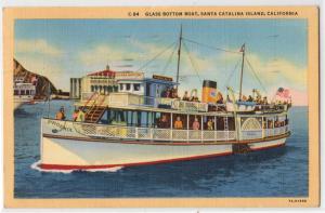 Glass Bottom Boat, Santa Catalina Island CA