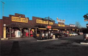 Crossville Tennessee Bean Pot Restaurant Country Store Postcard JB626648