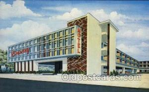Envoy Motel, Atlantic City, USA Motel Hotel Postcard Postcards  Envoy motel, ...