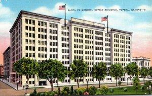 Kansas Topeka Santa Fe General Office Building