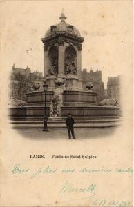 CPA Paris 6e Paris-Fontaine Saint-Sulpice (312571)