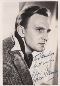Stephen Murray Actor Hand Signed Photo