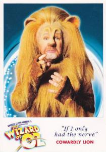 Andrew Lloyd Weber Production, The Wizard of Oz, COWARDLY LION, London Pallad...