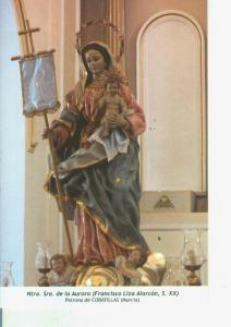 Postal 014613: Virgen Ntra Sra de la Aurora (Francisco Liza Alarcon)