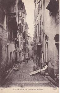 NICE (Alpes Maritimes), France, 1900-1910s; Vieux Nice, La Rue Du Malonat