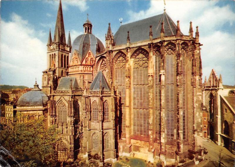 Bad Aachen bad aachen elisenbrunnen hippostcard
