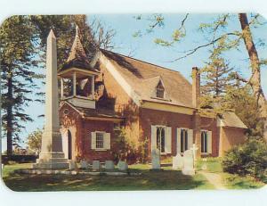 Pre-1980 CHURCH SCENE Dover Delaware DE hs7562