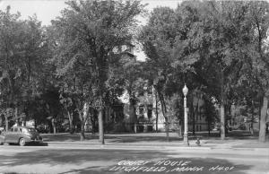 Litchfield Minnesota Court House Real Photo Antique Postcard K64163
