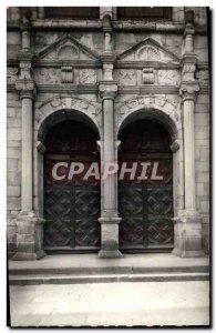 Postcard Old Saint Malo Dinan Porch L & # 39Eglise