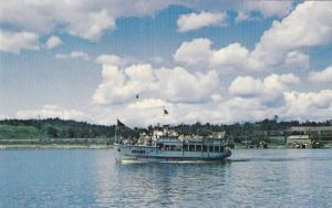The Argyle, excursion boat, offers a pleasant trip on lake of the woods,  Ken...