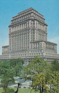 Sun Life Building, East side of Dominion Square, Montreal, Quebec, Canada, 50...