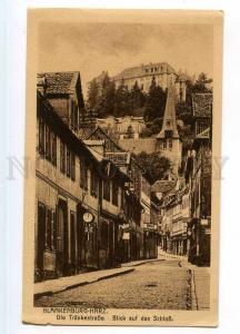 246795 GERMANY BLANKENBURG HURZ Trankestrasse Vintage postcard