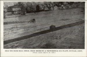 Putnam CT 1936 Flood Postcard #4
