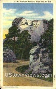 Mt. Rushmore Memorial - Black Hills, South Dakota