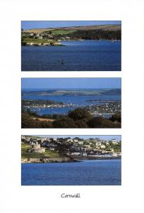 Cornwall Postcard St Mawes, River Fal, St Mawes Castle, Multi View N87