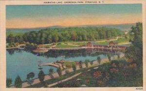 New York Syracuse Hiawatha Lake Onondaga Park