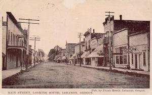 Hotel Lebanon Oregon~Pay-Well Timber Lands~The Other Shop~Empire Theatre c1910