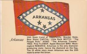 Arkansas State Flag Land Of Opportunity