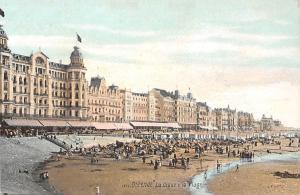 Belgie Ostende La Digue, La Plage, Strand, Animated Beach