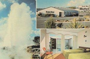 Puhi Nui Motel Hotel Rotorua New Zealand Postcard