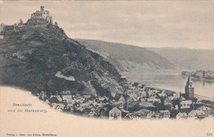 BRAUBACH, Rhineland-Palatinate, Germany; Und die Marksburg, 1900-10s