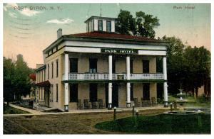 10216  NY Port Byron   Park Hotel