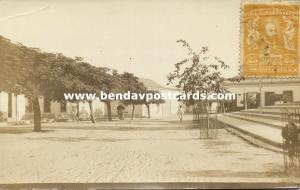 venezuela, Unknown Town, Street Scene (1910s) RPPC