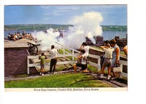 Noon Day Cannon Being Fired, Halifax, Nova Scotia
