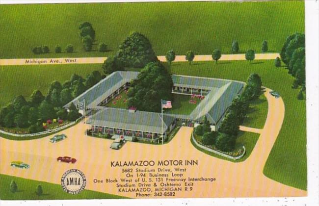 Michigan Kalamazoo Motor Inn