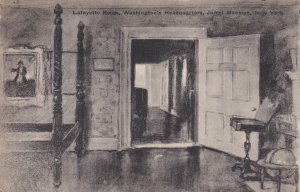 NEW YORK CITY, New York, 1900-1910s; Lafayette Room, Jumel Mansion