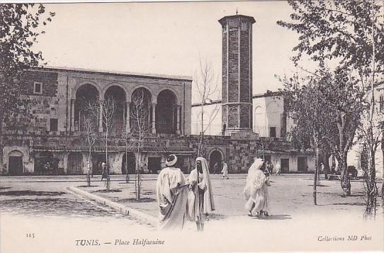 Tunisia Tunis Place Halfaouine