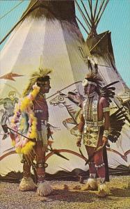 Oklahoma Indians At Indian City USA Oklahoma