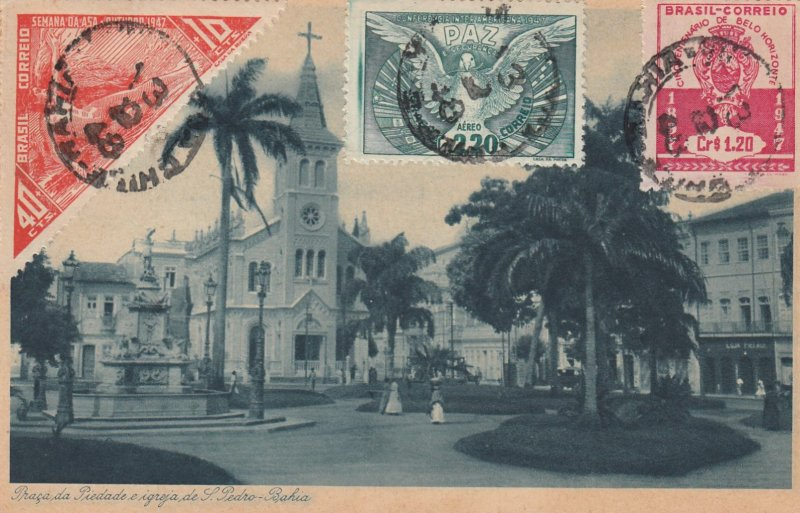 BAHIA , Brazil , 1918 ; Church