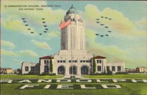 Administration Building Randolph Field San Antonio Texas linen